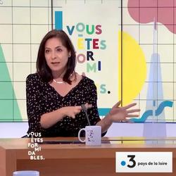 """LES CHOSES EN ORDRE dans l'émission """"Vous êtes formidables"""" sur France 3 Pays de Loire"""