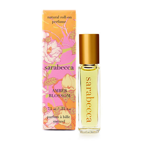 Amber Blossom Natural Perfume Roll-On