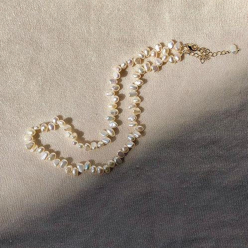 Mini Natural Pearl Choker