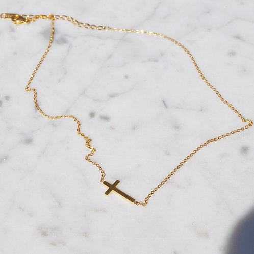 Penelope Cross Necklace