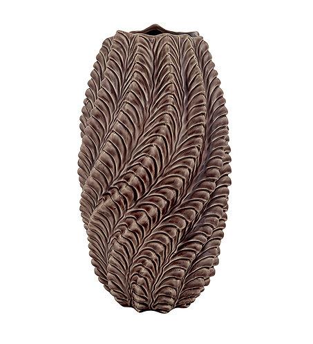 Vase, med mønster