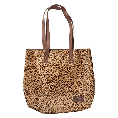 Veske/Nett Leopard mønsterbrun