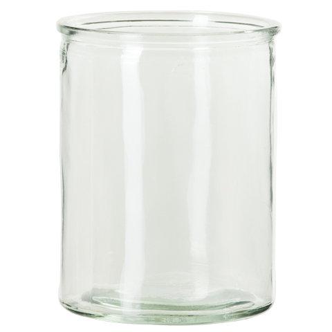 Vase i glass