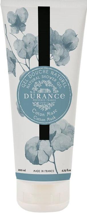 Durance, dusjsåpe, Cotton Musk