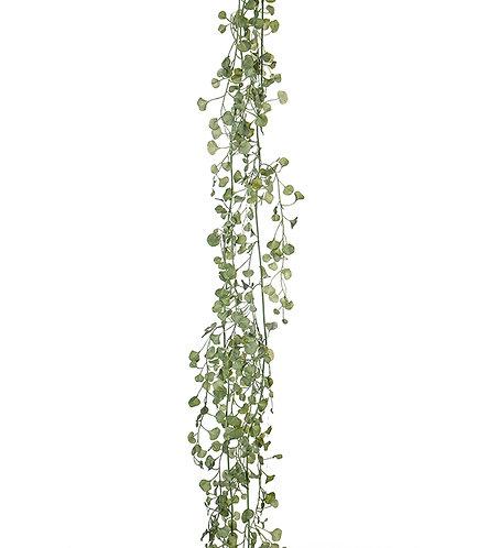 Mr Plant, kunstig ranke med silverfalls.