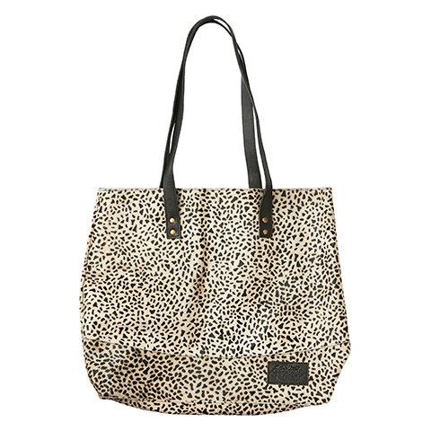 Veske/nett med leopardmønster