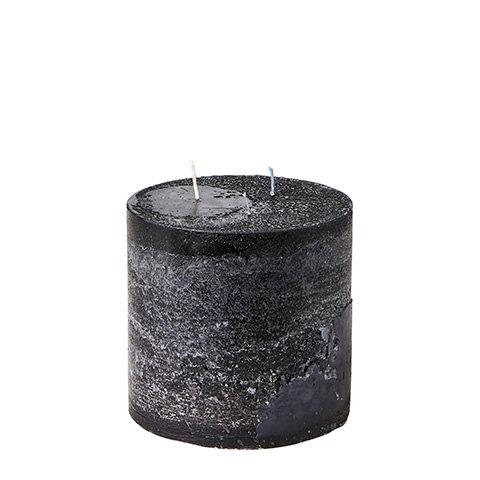 Affari, stort kubbelys, 15x15cm, sort