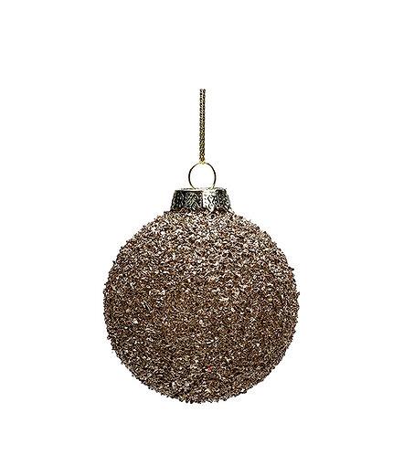 Julekule, glitter