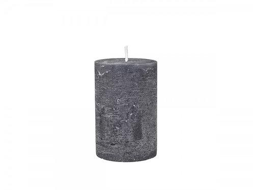 Kubbelys, sort/grå 15x10