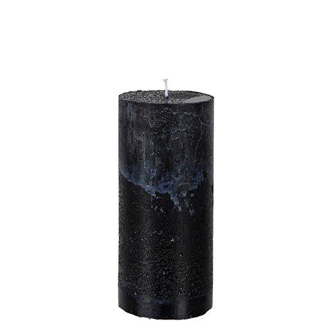 Kubbelys, svart, 15x7cm