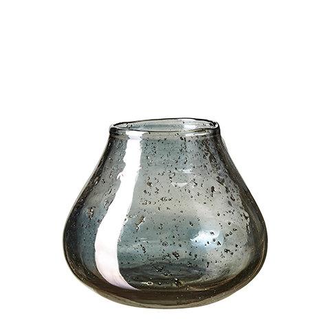 Affari, vase i blå/grå farge