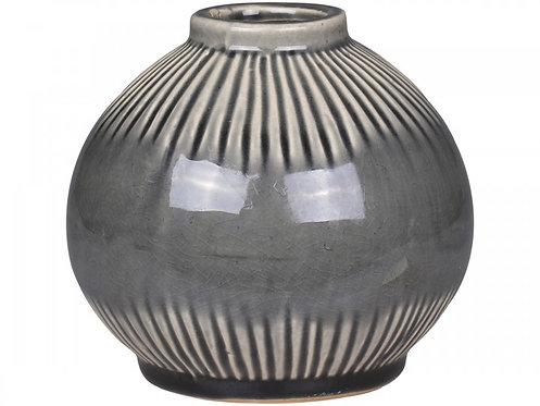 Chic Antique, vase med stripet mønster