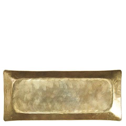 Affari, avlangt gullfarget fat
