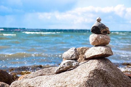 Energie Steine - Meer