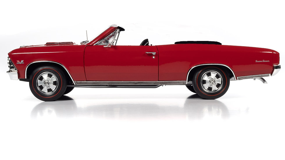 BYC future release, 1966 Chevelle SS 396 convertible, 1 of 12