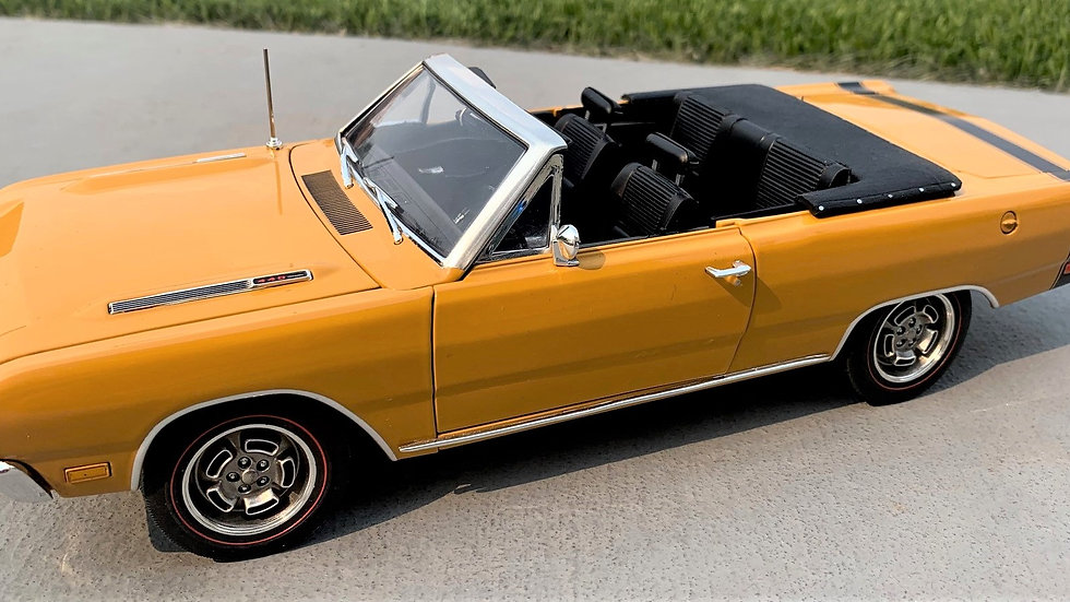 YCID release #5c, 1969 Dodge Dart GTS 1 of 36 convertible