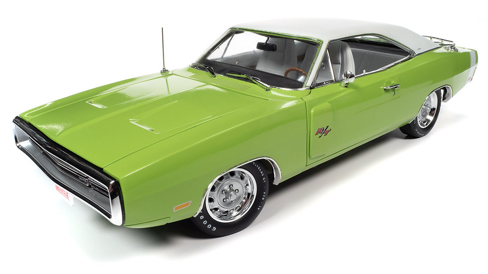 Autoworld, 1970 Dodge Charger R/, Sublime Green