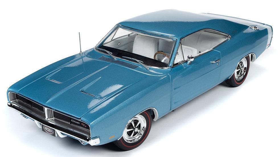 Autoworld, 1969 Charger R / T en bleu B3