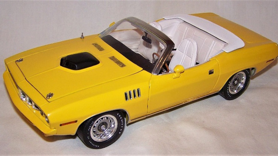 YCID, NASH BRIDGES TRIBUTE, 1971 CUDA convertible, 1-120, SOLD OUT