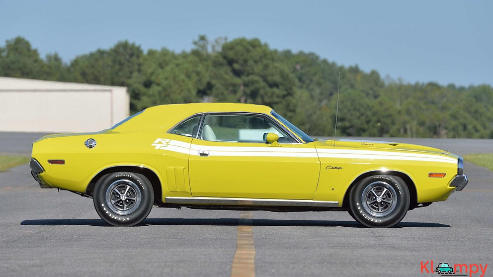 YCID #19, 1971 Challenger R/T, Citron Yellow, Coupe
