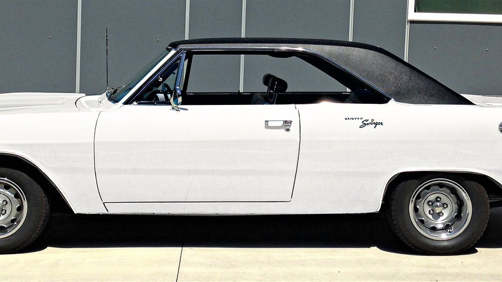 YCID #15BV, 1970 Dodge Dart Swinger 340, White/Blk Top