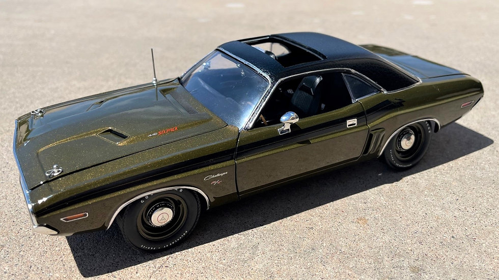 YCID Special Release, 1971 Challenger R/T, Gold Sunroof, 1-60