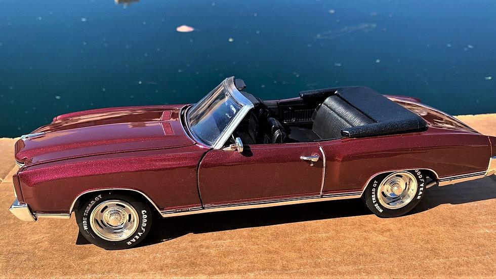 Autoworld, 1970 Monte Carlo SS 454, cabriolet fantastique, 1-12