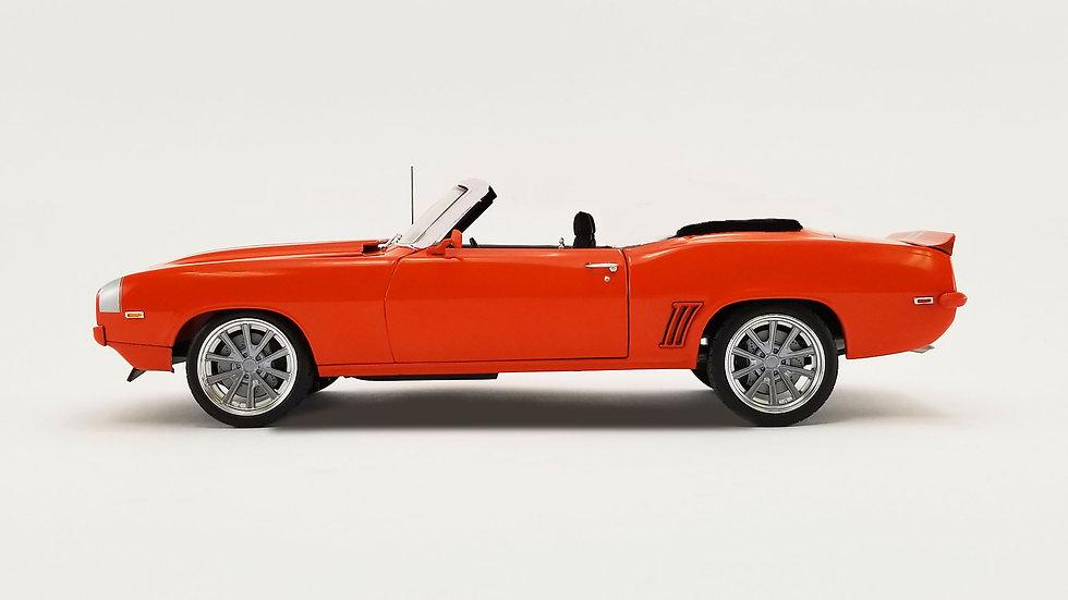 BYC release #??, Acme, 1969 Camaro Restomod, Orange 1-24