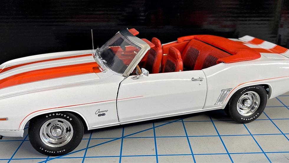 YCID, 1969 Camaro, Z/10, Convertible