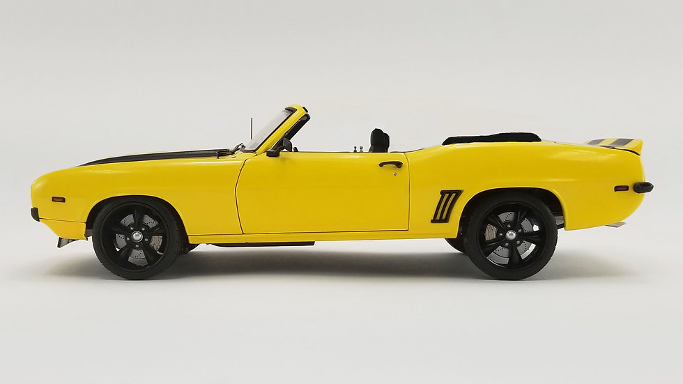BYC/ACME, Yellow Jacket, 1969 Camaro Street Fighter convertible