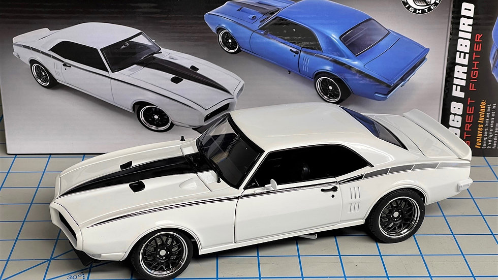 Acme, Street Fighter, 1968 Firebird in White, FREE SHIPPING