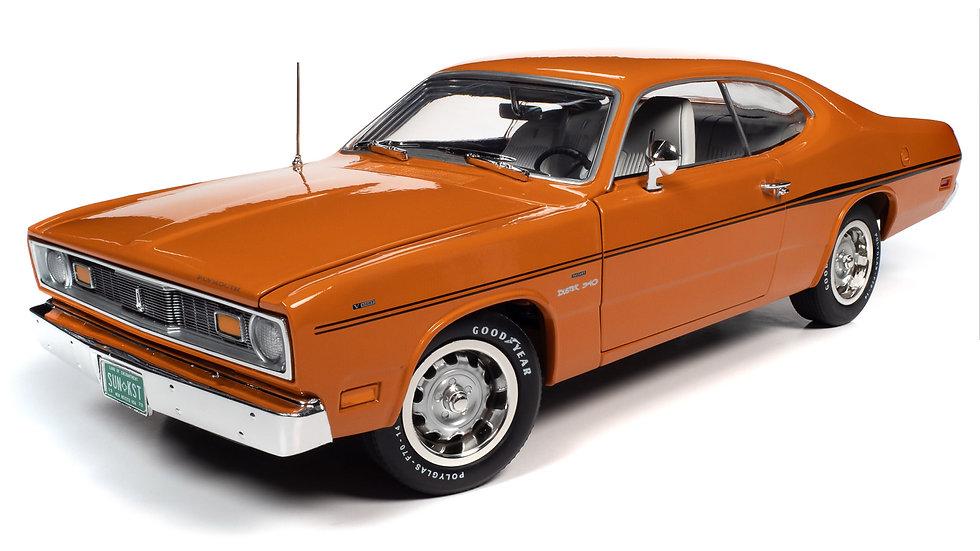 Autoworld, 1970 Plymouth Duster 340, Vitamin C Orange