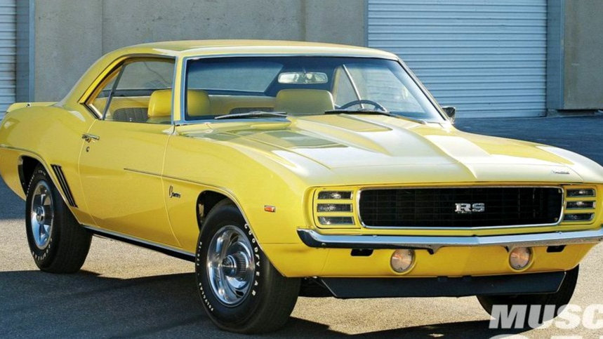 YCID #14, 1969 Camaro RS/COPO, Daytona Yellow, 1-96