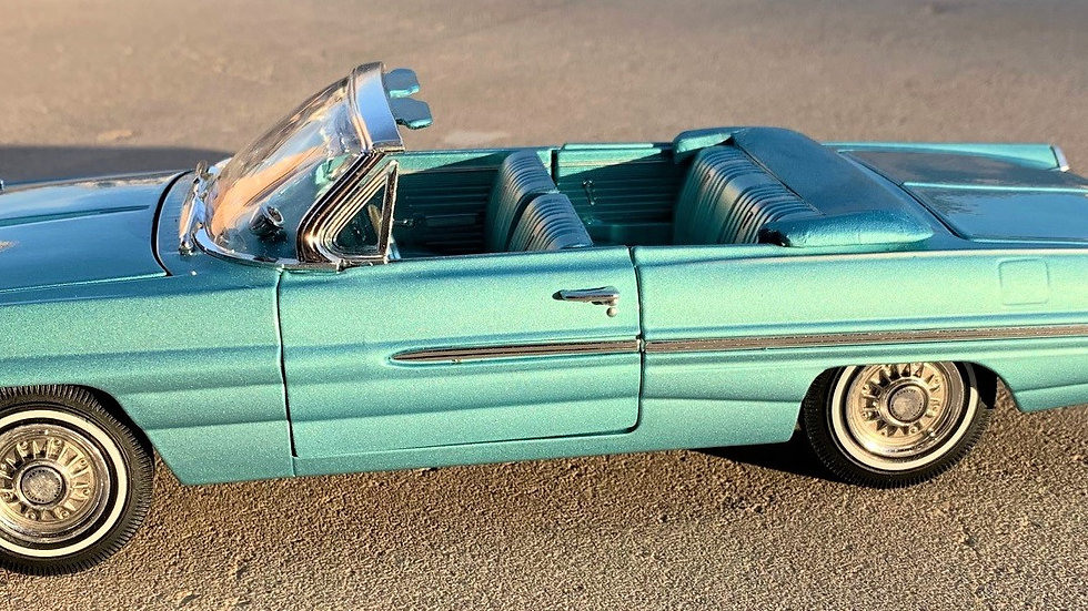 BYC release #26,1962 Pontiac Catalina, Royal Bobcat Convertible