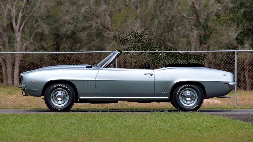 HWY61, 1969 Camaro ZL1, Barrett-Jackson, 1-12 convertibles