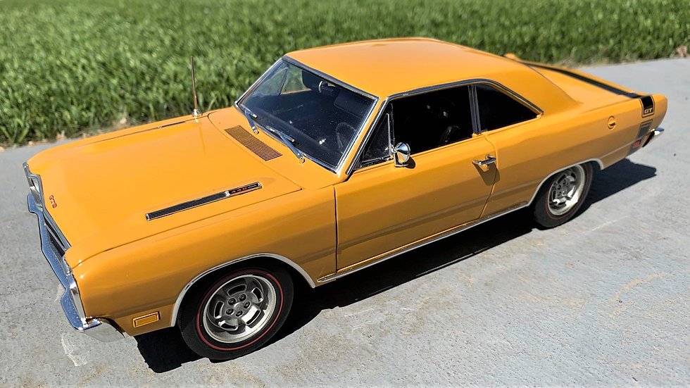 YCID release #5, 1969 Dodge Dart GTS 1 of 69