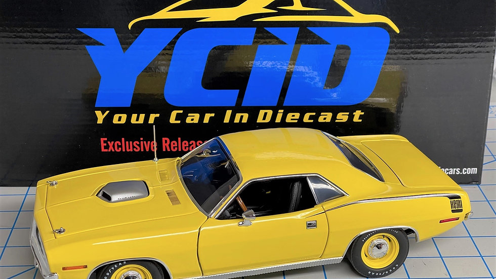 YCID Release #6, 1970 Hemi Cuda Coupe, 1-70