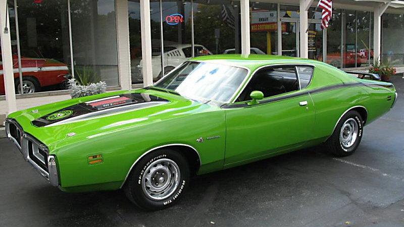 Autoworld, 1971 Dodge Super Bee, Go Green
