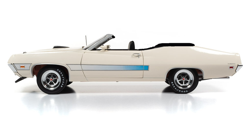 BYC release #??, Autoworld, 1971 Ford Torino GT, 1 -18 convertible