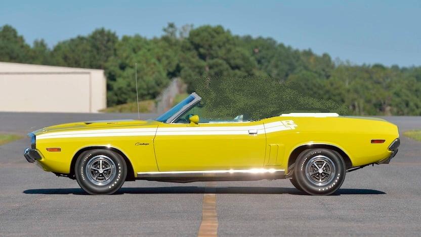 YCID #19, 1971 Challenger R/T, Citron Yellow, Convertible