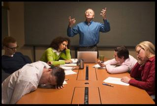 On sait tous animer une réunion...