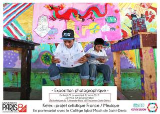 Échange interculturel entre des enfants de St Denis en France et des Mayas au Mexique -bilan du proj