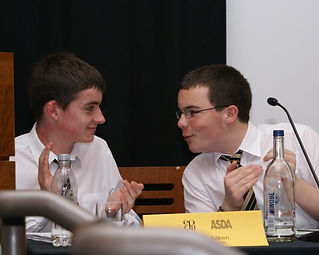 Juniors' Debating Competition Final 2007 at National Gallery of Scotland