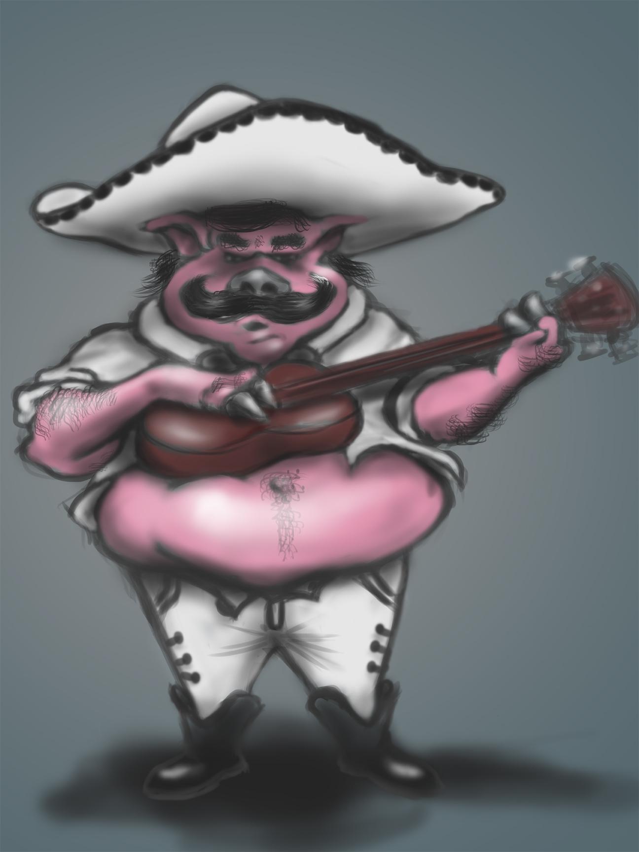Mariachi Pig