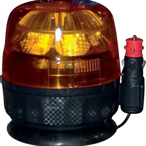 LED Rundumleuchte 130x133mm | Galaxy | Magnetische Befestigung