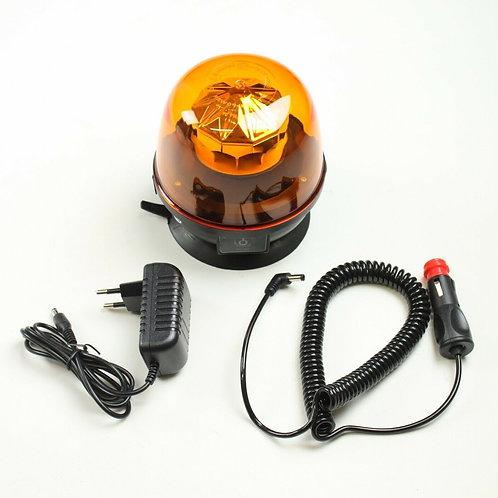 LED Rundumleuchte AKKU 12V/24V Warnleuchte Magnet Blitzleuchte Rundumkennleuchte