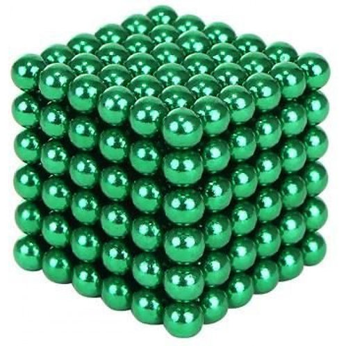 Kugeln Magnetblöcke Magnetkugeln 216 Stück/Set 3mm, grün