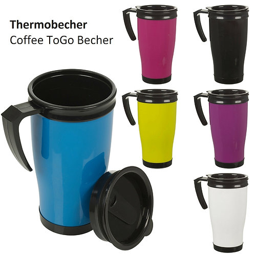 Coffee-To-Go Becher 450ml Doppelwandig Thermobecher