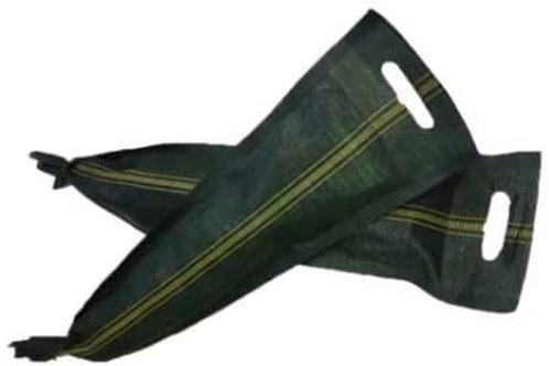 12x Silosandsäcke, 25x100, Sandsäcke, UV-beständig,  mit Zugband