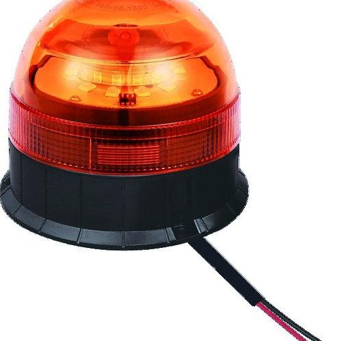 LED Rundumleuchte 130x140mm | flache Basis (3 Schrauben)